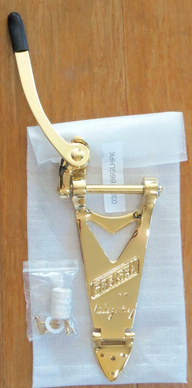 Bigsby B6GLHP Gold Vibrato Saitenhalter  Linke Hand  Saiten durch USA