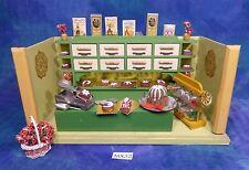 Vintage Doll House Dollhouse German Art Deco Green Bakery Shop Room Box Acc MX32