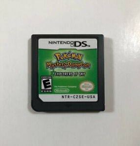 Pokemon-Mystery-Dungeon-Explorers-of-Sky-Nintendo-DS-Authentic-Fast-Shipping