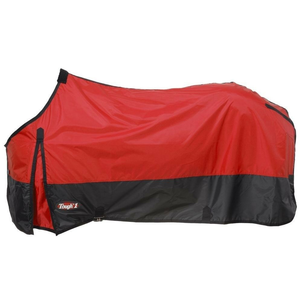 Tough-1 420D Poly Stable Horse Sheet with Closed Front and Fleece Withers