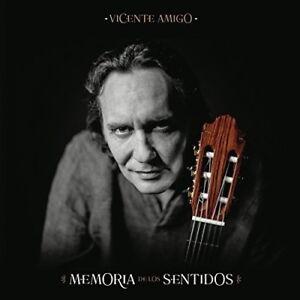 Vicente-Amigo-Memoria-De-Los-Sentidos-2017-CD-NEUF