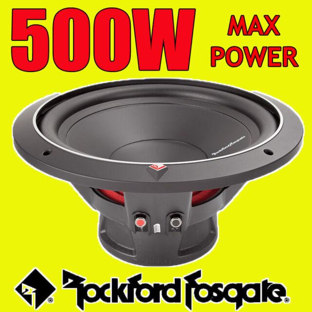 """Rockford Fosgate 12"""" 12-inch 500W CAR AUDIO Punch Bass Sub Subwoofer 30cm 4ohm"""