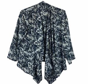Portmans Womens Green/Black 3/4 Sleeve Lightweight Jacket Size 12