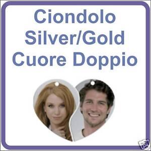 CIONDOLO-034-silver-gold-034-personalizzato-con-la-tua-FOTO