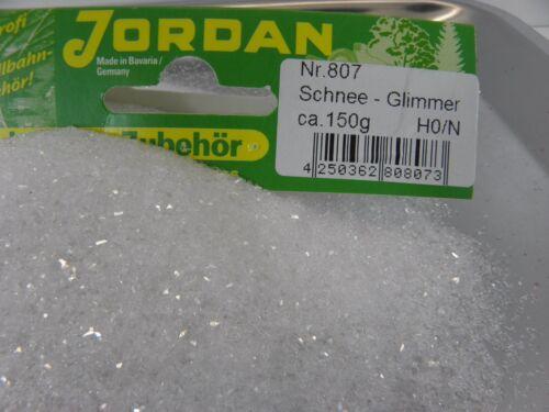 LA NEIGE-Mica 150 G Jordan 807 Modélisme Hiver Paysage Village Hivernal 45099
