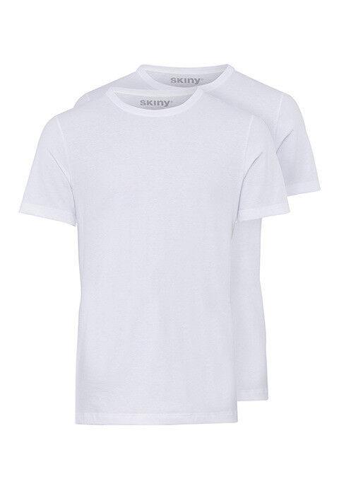 4 x Skiny T-Shirt Shirt Collection S - XXL schwarz oder weiß NEU