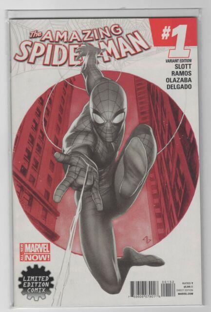 Amazing Spider-Man #1 Marvel Comics 1st Print Granov Sketch Variant VF
