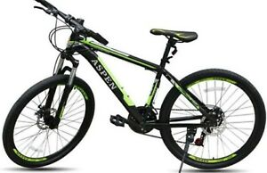 26 Aspen Mountain Bike 21s Black And Greeen Ebay