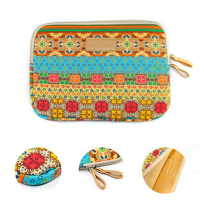 """Bohemian Laptop Sleeve Bag for Notebook 10"""" 12"""" 14"""" 15"""" MacBook Tablet Cover"""