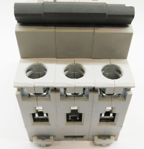 15 Amp LSis 3 Pole Din Rail MCB Circuit Breaker UL1077 10kA @ 480V; 6kA @ 240V