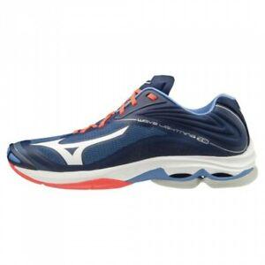 mizuno volleyball shoes navy ebay