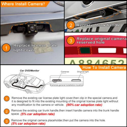 Details about  /Car Reverse Camera LED For Kia Oprius K3 Forte Ceed Rondo Cerato Carens Borrego