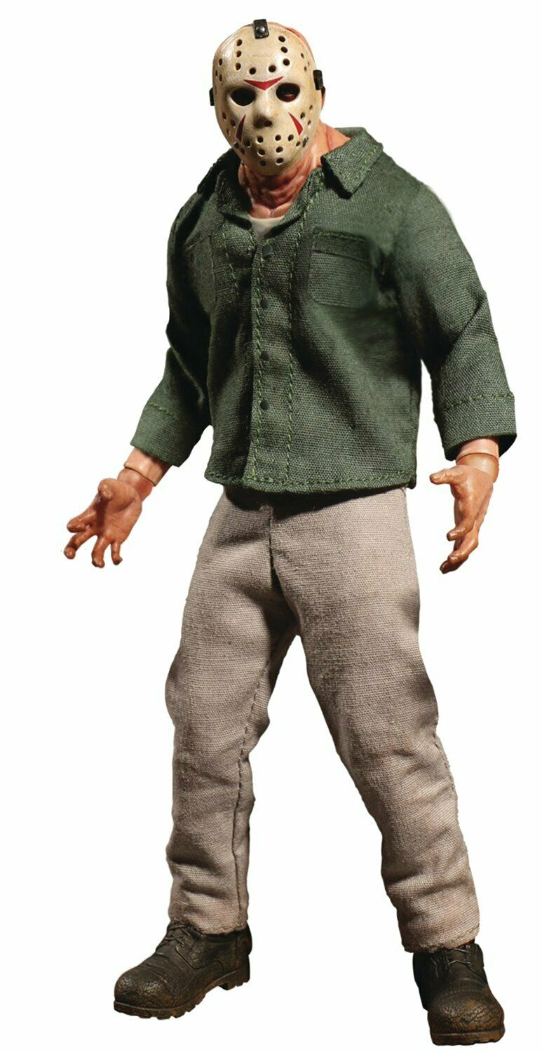 Mezco Toys One One One 12  Friday The 13th Part 3  Jason Voorhees Action Figure fa9d95