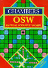 Chambers Official Scrabble Words by Chambers (Hardback, 1994)