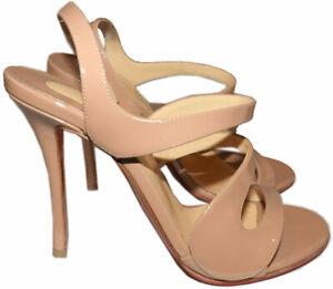 895-Christian-Louboutin-Vavazou-Slingback-Sandals-Shoes-Nude-Beige-Pumps-38