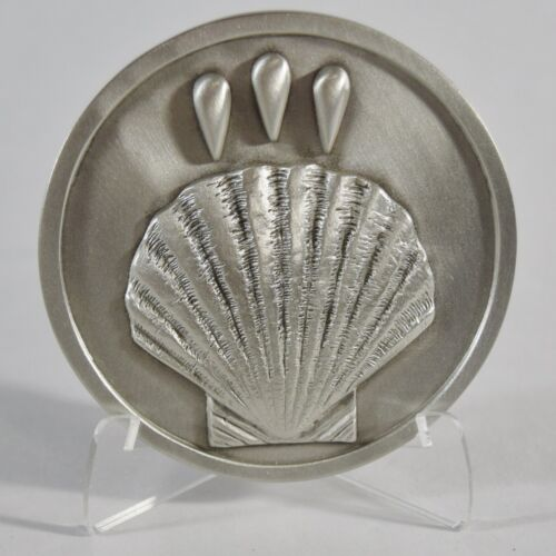 Celebration of Your BAPTISM Lutheran Brotherhood MEDALLION with Stand /& Box