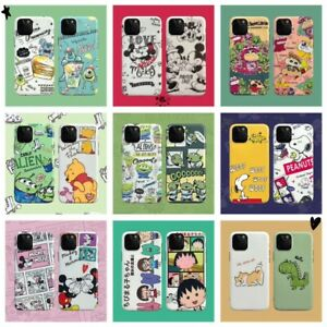 Cute-Disney-Cartoon-Minnie-Soft-Case-Cover-For-iPhone-6s-7-8Plus-XR-11Pro-XS-Max