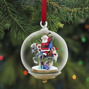 Modellpferd-Breyer-700413-Gifts-from-Santa-Glass-Globe-Ornament