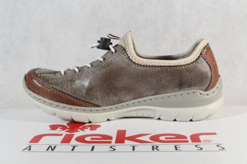 Da Pantofola Basse Scarpe Rieker Nuovo L3269 Ginnastica Marrone Memosoft gqdESSF