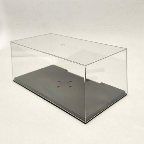 Display Boxs Model Car Acrylic Case Cover Transparent Dust Proof 1:24 1:32 22cm