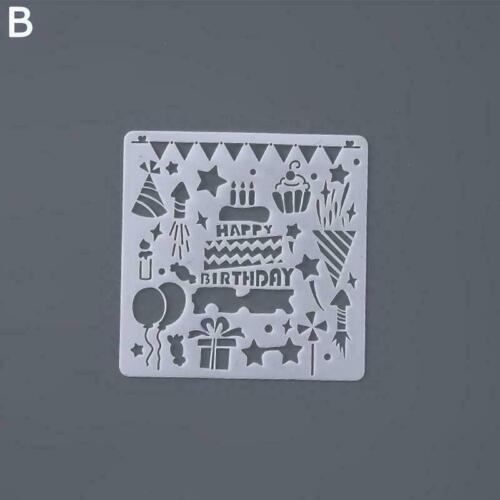 Wiederverwendbare Schablonenschnitt-Malvorlage M3N7