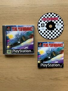 Rare-CIB-Peak-Performance-Sony-Playstation-1-ps1-Spiel