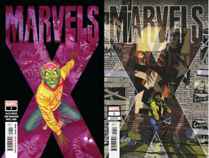 Marvels-X-1-First-Print-Leon-Party-Variant