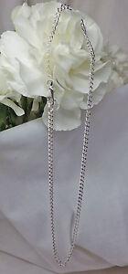 925-Solid-Sterling-Silver-Diamond-Cut-Curb-Bracelet-Ankle-Bracelet-2716