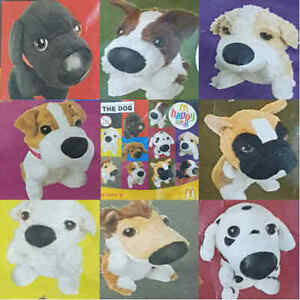 McDonalds-Happy-Meal-Toy-2005-Artist-The-Dog-Puppy-Soft-Plush-Toys-Various
