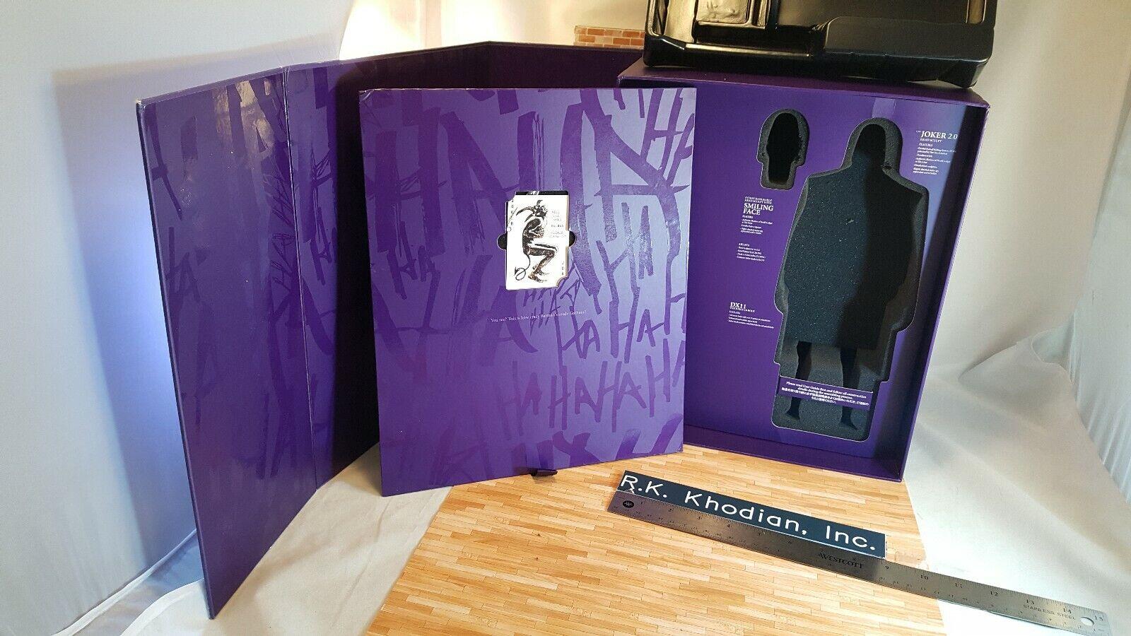caliente giocattoli DX11 Batuomo Dark Knight 16 Joker 2. azione cifra's empty Art scatola only