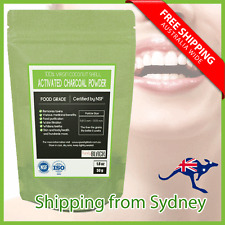 Virgin Coconut Shell Activated Charcoal Powder - Teeth Whitening Toothpaste 50g