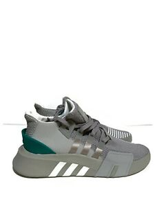 Details about Adidas EQT Bask ADV Mens B37514 Grey Sub Green Knit Athletic Shoes Size 13