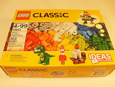 LEGO 10693 Classic  303pc Creative Supplement Learning Toy for Kids