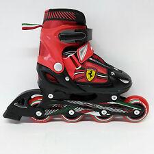 Ferrari Inline Skate verstellbare Kinder Inliner rot Gr. 34-37 Abec 5