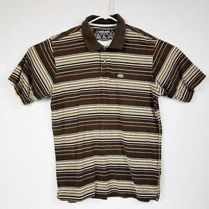 Ecko-Unltd-Men-039-s-Rugby-Golf-Polo-Shirt-Brown-Cotton-Size-XL-LNC