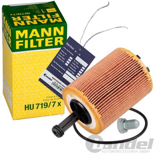 Hombre filtro aceite filtro uso ölwechselset Ford Galaxy 1.9 TDI 130+150 CV