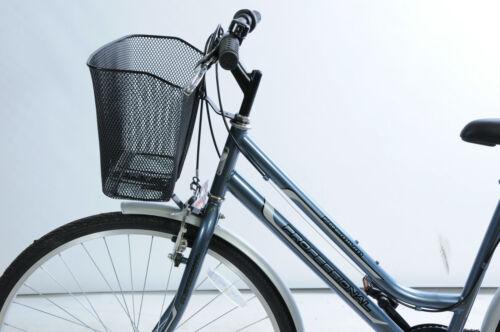 PET CARRIER per parte anteriore della bici rete metallica con raccordi FORCELLA Cuffie stabile forte