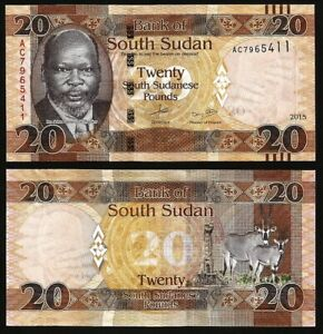 SOUTH-SUDAN-20-Pounds-2017-2018-P-13-UNC-World-Currency