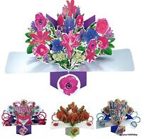 BIRTHDAY * ANNIVERSARY * WEDDING * Pop Up Cards 3 D and Greeting Cards