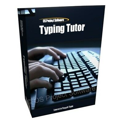 Professional Typing Tutor Software Learning Program - Learn to Touch Type Fast