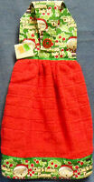 Family Guy's Stewie Festive Christmas Red Hanging Kitchen Hand Towel 957