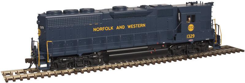 Spur H0 - Atlas Diesellok EMD GP40 Norfolk & Western mit Sound -- 10002416 NEU