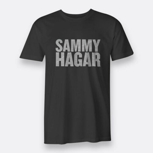 Sammy Hagar Top Rock Tees Black S-3XL Men/'s T-shirts
