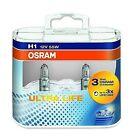H1 OSRAM Ultra Life Low Beam Bulbs Lights Headlight Headlamp Genuine