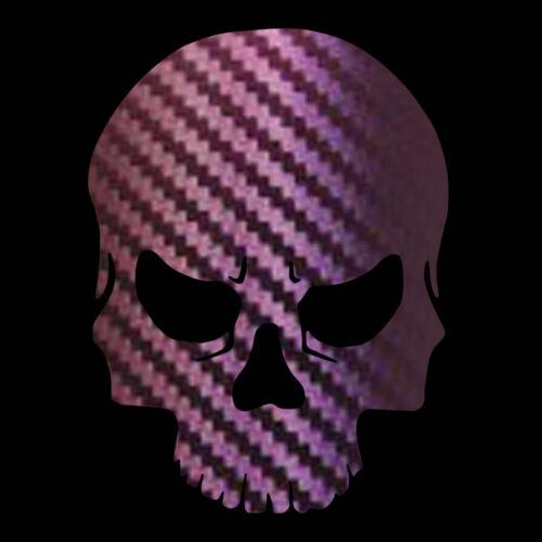 Skull Decal Vinyl Skull Sticker Choose Specialty Color