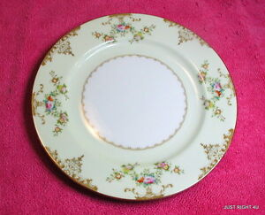 """{SET OF 2} Meito (Marie) 7 7/8"""" SALAD PLATES Exc V2069 (3 avail)"""
