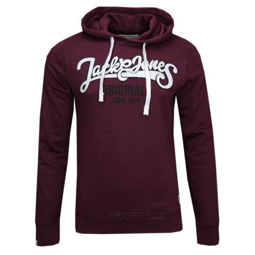JACK /& JONES HERREN SWEAT COMPANY HOOD Gr.S,M,L,XL,XXL