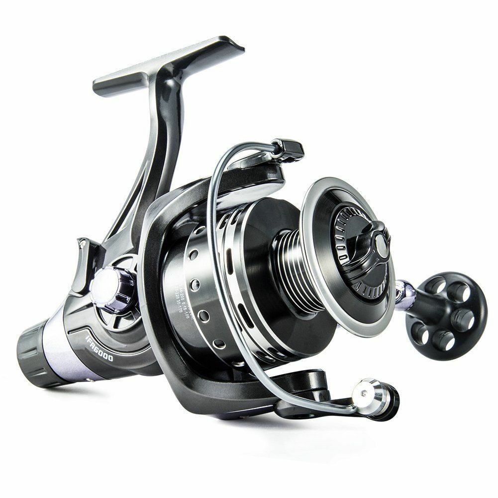 New Spinning Reel Saltwater Fishing Heavy Duty 111BB Large FishingDual Brake