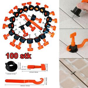 100tlg Nivelliersystem Verlegehilfe Verlegesystem Fliesen Verlegen Mit Werkzeuge