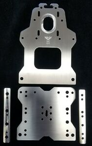 Details about Tall 80 mm 4W X, Z Gantry Plates and Spacers for the OX CNC  (seen at Openbuilds)